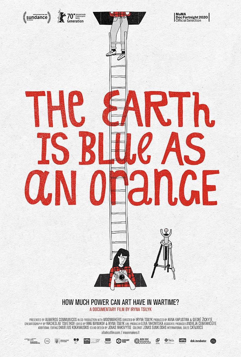 The Earth is as Blue as an Orange